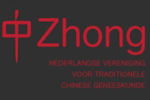 Label waaraan te zien is dat Acupunctuur Maassluis lid is van Zhong - De Nederlandse Vereniging voor Traditionele Chinese Geneeskunde.